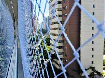Rede de proteção para janelas em Campinas